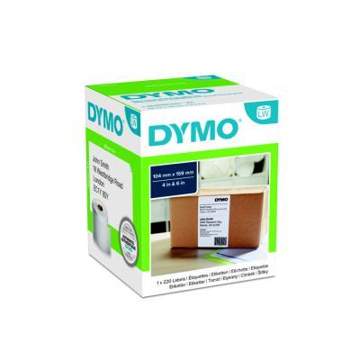 Rouleau d'étiquettes pour Dymo Labelwriter 4 XL - 220 étiquettes 104 x 159 mm