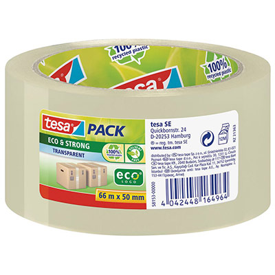 Tesapack Eco & Strong bande d'emballage