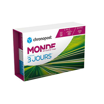 Boite Chrono Express Monde & Outre-Mer - 5 kg