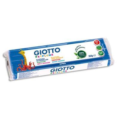 Pâte à modeler Patplume 350 g / Bleu Clair Ecole (photo)
