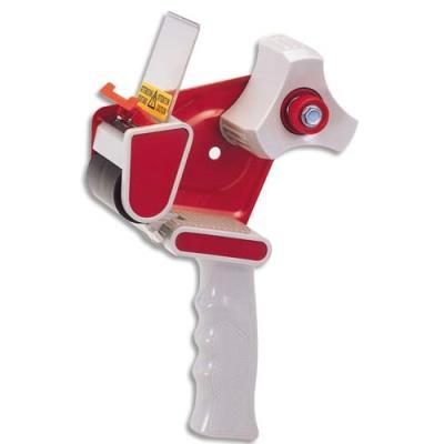 Dévidoir pistolet Viso pour ruban adhésif d'emballage - pour rouleau 66m ou 100m (photo)