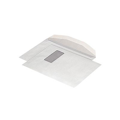 Enveloppe papier vélin blanc La Couronne - format C4 - 324 x 229 mm - avec fenêtre - 90 g/m² fermeture gommée - blanc - paquet 250 unités