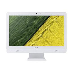 Acer Aspire C20-820 - Tout-en-un - 1 x Celeron J3060 / 1.6 GHz - RAM 4 Go - HDD 1 To - graveur de DVD - HD Graphics 400 - GigE - LAN sans fil: 802.11a/b/g/n/ac, Bluetooth 4.2 - Win 10 Familiale 64 bits - moniteur : LED 19.5