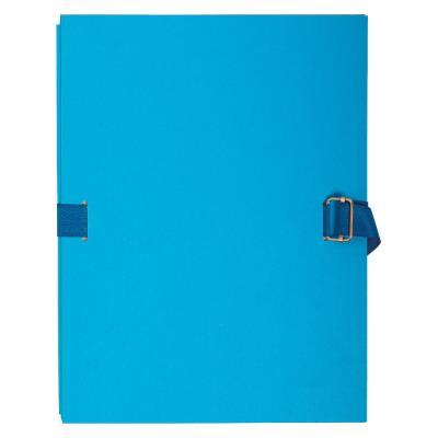Chemise extensible à rabat Exacompta - coloris bleu