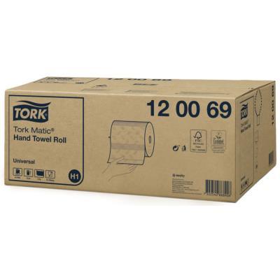 Essuie-mains Tork Advanced - pour distributeur Matic H1 - 150 m x 21 cm - 2 plis - blanc - rouleau