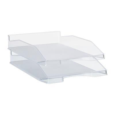Bac à courrier - A4 - polystyrène - translucide