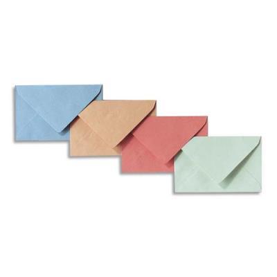 Boîte de 500 enveloppe élection GPV - 64 gr - coloris bleu - format 90x140 (photo)