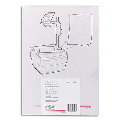 Transparents pour toutes imprimantes jet d'encre - boite de 50 (photo)