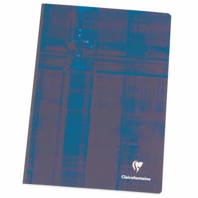 Metric Cahier broché A4 21 x 29,7 cm - grands carreaux Seyès - 192 pages (bloc 92 feuilles)