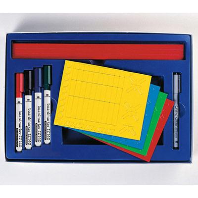 Kit planning Legamaster Set 1 pour une personne - 24 x 35 x 5 cm (photo)