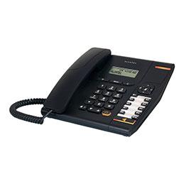 Alcatel Temporis 580 - Téléphone filaire avec ID d'appelant - noir (photo)