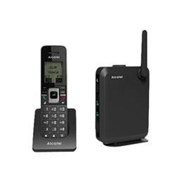 Alcatel IP2215 - Téléphone VoIP sans fil - IP-DECT - SIP, SIP v2 - 6 lignes + combiné supplémentaire (photo)