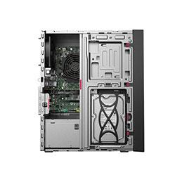 Lenovo ThinkStation P330 30C6 - Tour - 1 x Core i7 8700 / 3.2 GHz - RAM 32 Go - SSD 256 Go - TCG Opal Encryption, HDD 1 To - Quadro P2000 / UHD Graphics 630 - GigE - Win 10 Pro 64 bits - moniteur : aucun