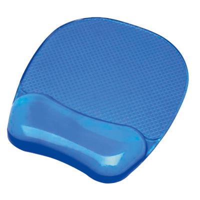 Tapis de souris gel cristal Fellowes - bleu (photo)