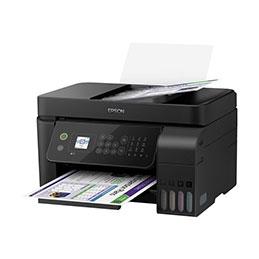 Epson EcoTank ET-4700 - Imprimante multifonctions - couleur - jet d'encre - A4/Legal (support) - jusqu'à 10 ppm (impression) - 100 feuilles - 33.6 Kbits/s - USB, LAN, Wi-Fi - noir