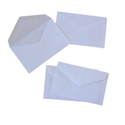 Enveloppe élections La Couronne - 90 x 140 mm - 70 g/m² fermeture autocollante - blanc - paquet 1000 unités
