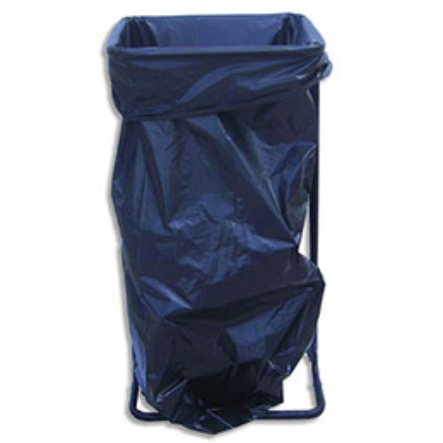 support sac poubelle viso capacit 110 130 litres sans roulettes l56 x h80 x p44 cm. Black Bedroom Furniture Sets. Home Design Ideas