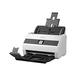 Epson WorkForce DS-870 - Scanner de documents - Recto-verso - A4 - 600 dpi x 600 dpi - jusqu'à 65 ppm (mono) / jusqu'à 65 ppm (couleur) - Chargeur automatique de documents (100 feuilles) - jusqu'à 7000 pages par jour - USB 3.0 (photo)
