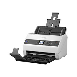 Epson WorkForce DS-970 - Scanner de documents - Recto-verso - A4 - 600 dpi x 600 dpi - jusqu'à 85 ppm (mono) / jusqu'à 85 ppm (couleur) - Chargeur automatique de documents (100 feuilles) - jusqu'à 9000 pages par jour - USB 3.0 (photo)