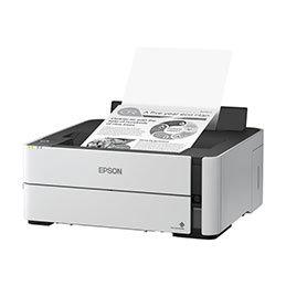 Epson EcoTank ET-M1180 - Imprimante - Noir et blanc - Recto-verso - jet d'encre - refillable - A4/Legal - 1 200 x 2 400 ppp - jusqu'à 20 ppm - capacité : 250 feuilles - USB 2.0, LAN, Wi-Fi