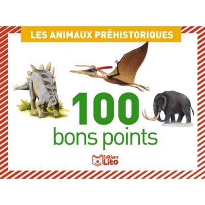 Bons points - animaux préhistorique - boîte de 100 (photo)
