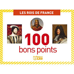 Bons points - rois de France - boîte de 101 (photo)