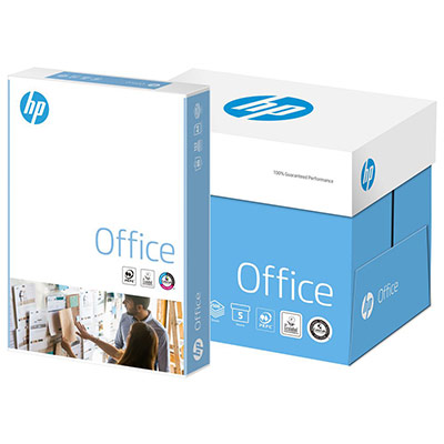 Papier A4 blanc 80g HP Office - ramette de 500 feuilles (photo)
