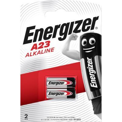 Pile alcaline Energizer A23/E23A - 12V - LRV08 - blister de 2 piles