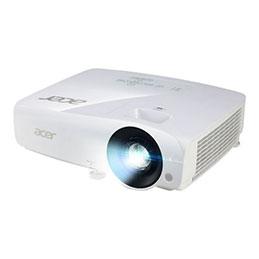 Acer X1325Wi - Projecteur DLP - UHP - portable - 3D - 3600 ANSI lumens - WXGA (1280 x 800) - 16:10 - 720p - LAN (photo)