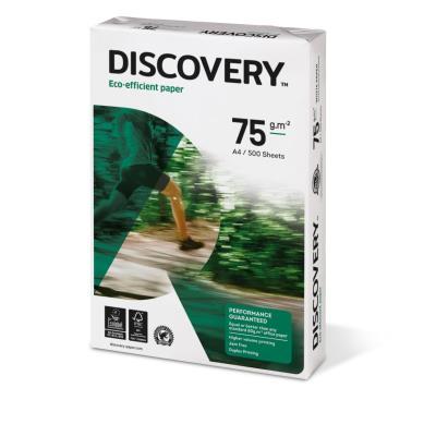 Papier Discovery - très blanc - 75 g - A4 - ramette de 500 feuilles