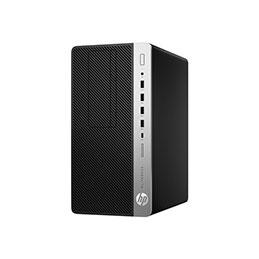HP EliteDesk 705 G4 - Workstation Edition - micro-tour - Ryzen 7 Pro 2700X / 3.7 GHz - RAM 16 Go - SSD 256 Go - NVMe - graveur de DVD - Radeon Pro WX 3100 - GigE - Win 10 Pro 64 bits - moniteur : aucun - clavier : Français (photo)