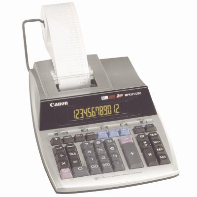 Calculatrice imprimante Canon MP1211LTSC - 12 chiffres