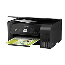 Epson EcoTank ET-2720 - Imprimante multifonctions - couleur - jet d'encre - Refillable - A4/Legal (support) - jusqu'à 33 ppm (impression) - USB, Wi-Fi - noir (photo)