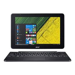 Acer One 10 S1003-198H - Tablette - avec socle pour clavier - Atom x5 Z8300 / 1.44 GHz - Win 10 Familiale 32 bits - 2 Go RAM - 32 Go eMMC - 10.1