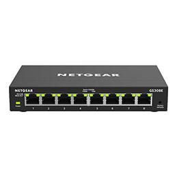 NETGEAR Plus GS308E - Commutateur - intelligent - 8 x 10/100/1000