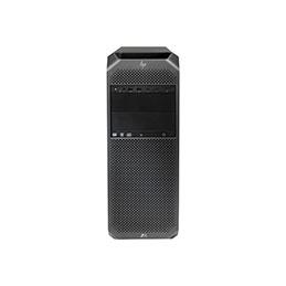 HP Workstation Z6 G4 - Tour - 4U - 1 x Xeon Silver 4114 / 2.2 GHz - vPro - RAM 32 Go - SSD 256 Go - HP Z Turbo Drive, NVMe - graveur de DVD - aucun graphique - GigE - Win 10 Pro 64 bits - moniteur : aucun - clavier : Français - noir