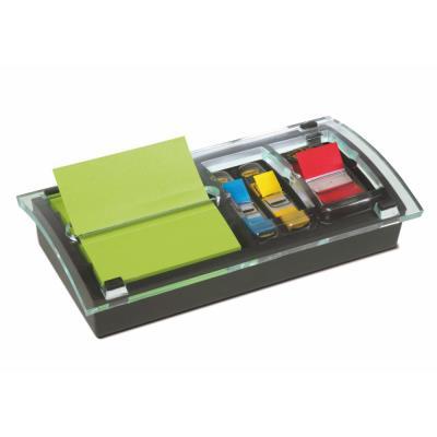 Dévidoir Znotes et index Post-it - livré avec 12 blocs Znotes + 1 carte de 10 index standard