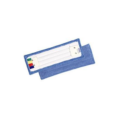 Frange de rechange Econet en microfibre pour système de lavage à plat à languettes - 40 cm - bleu (photo)