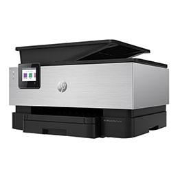 HP Officejet Pro 9019/Premier All-in-One - Imprimante multifonctions - couleur - jet d'encre - Legal (216 x 356 mm) (original) - A4/Legal (support) - jusqu'à 21 ppm (copie) - jusqu'à 22 ppm (impression) - 250 feuilles - USB 2.0, LAN, Wi-Fi(n), hôte USB - aluminium premium
