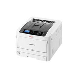 OKI C834dnw - Imprimante - couleur - Recto-verso - LED - A3 - 1200 x 600 ppp - jusqu'à 36 ppm (mono) / jusqu'à 36 ppm (couleur) - capacité : 400 feuilles - USB 2.0, Gigabit LAN, Wi-Fi(n), NFC, hôte USB 2.0