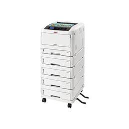 OKI ES 8434dn - Imprimante - couleur - Recto-verso - LED - A3 - 1200 x 600 ppp - jusqu'à 36 ppm (mono) / jusqu'à 36 ppm (couleur) - capacité : 400 feuilles - USB 2.0, Gigabit LAN, NFC, hôte USB 2.0