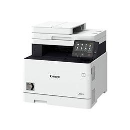 Canon i-SENSYS MF744Cdw -Imprimante multifonctions - couleur - laser - A4 (210 x 297 mm), Legal (216 x 356 mm) (original) - A4/Legal (support) - jusqu'à 27 ppm (copie) - jusqu'à 27 ppm (impression) - 300 feuilles - 33.6 Kbits/s - USB 2.0, Gigabit LAN, Wi-Fi(n), hôte USB, NFC (photo)