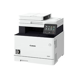Canon i-SENSYS MF746Cx - Imprimante multifonctions - couleur - laser - A4 (210 x 297 mm), Legal (216 x 356 mm) (original) - A4/Legal (support) - jusqu'à 27 ppm (copie) - jusqu'à 27 ppm (impression) - 300 feuilles - 33.6 Kbits/s - USB 2.0, Gigabit LAN, Wi-Fi(n), hôte USB, NFC (photo)