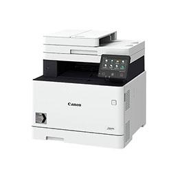 Canon i-SENSYS MF746Cx - Imprimante multifonctions - couleur - laser - A4 (210 x 297 mm), Legal (216 x 356 mm) (original) - A4/Legal (support) - jusqu'à 27 ppm (copie) - jusqu'à 27 ppm (impression) - 300 feuilles - 33.6 Kbits/s - USB 2.0, Gigabit LAN, Wi-Fi(n), hôte USB, NFC