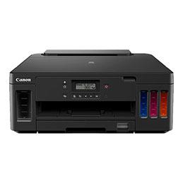 Canon PIXMA G5050 - Imprimante - couleur - Recto-verso - jet d'encre - Refillable - A4/Legal - jusqu'à 13 ipm (mono) / jusqu'à 6.8 ipm (couleur) - capacité : 350 feuilles - USB 2.0, LAN, Wi-Fi(n)