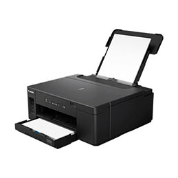 Canon PIXMA GM2050 - Imprimante - monochrome - Recto-verso - jet d'encre - Refillable - A4/Legal - 600 x 1 200 ppp - jusqu'à 13 ipm - capacité : 350 feuilles - USB 2.0, LAN, Wi-Fi(n) (photo)