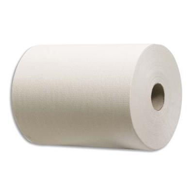 Bobine d'essuyage Slimroll - blanc - 1 pli - 165 m -  lot de 6 (photo)