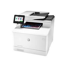 HP Color LaserJet Pro MFP M479dw - Imprimante multifonctions - couleur - laser - Legal (216 x 356 mm) (original) - A4/Legal (support) - jusqu'à 27 ppm (copie) - jusqu'à 27 ppm (impression) - 300 feuilles - USB 2.0, LAN, Wi-Fi(n), hôte USB (photo)
