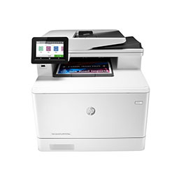 HP Color LaserJet Pro MFP M479fnw - Imprimante multifonctions - couleur - laser - Legal (216 x 356 mm) (original) - A4/Legal (support) - jusqu'à 27 ppm (copie) - jusqu'à 27 ppm (impression) - 300 feuilles - 33.6 Kbits/s - USB 2.0, LAN, Wi-Fi(n), hôte USB (photo)