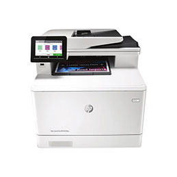 HP Color LaserJet Pro MFP M479fdw - Imprimante multifonctions - couleur - laser - Legal (216 x 356 mm) (original) - A4/Legal (support) - jusqu'à 27 ppm (copie) - jusqu'à 27 ppm (impression) - 300 feuilles - 33.6 Kbits/s - USB 2.0, LAN, Wi-Fi(n), hôte USB (photo)